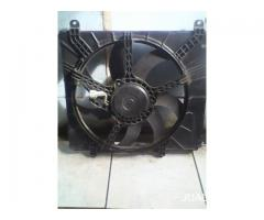kipas radiator nissan march copotan