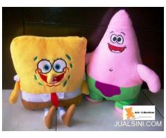 Paket Boneka Sponge Bob & Patrick