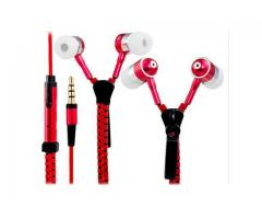 HANDSFREE ZIPPER EARPHONE