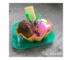 Paket franchise ice cream bowl