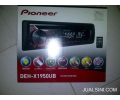 Single din Pioneer DEH-X1950UB Panther,Pick up L300,Carry, jazz