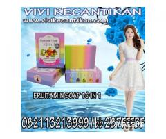 FRUITAMIN SOAP 10 IN 1 PEMUTIH ORIGINAL THAILAND 082113213999