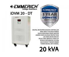 Automatic Voltage Regulator 20 kVA, 1phase, Emmerich type iDVM 20 - DT
