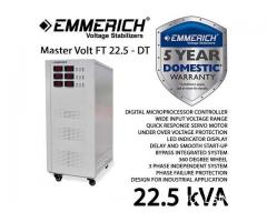 Emmerich Master Volt FT 22,5 kVA - DT, 3 phase, Germany Technology
