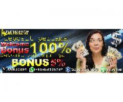 Bonus 100% tuk Pelanggan Pertama
