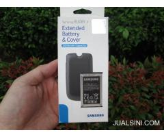 Baterai Hape Outdoor Samsung Rugby 4 Extend Battery Plus Cover 2000mAh