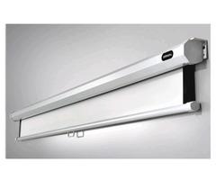 """jual layar projector manual 120""""(3meter x 3meter)"""