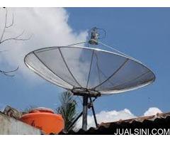 AHLI ANTENA TV LCD | SEDIA PASANG PARABOLA TOPAS BERGARANSI