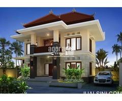 Desain Arsitek Rumah Bali Modern di Badung Bali