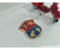 LEGSHIELD BADGE FOR VINTAGE SCOOTER . ULMA VIGANO FALBO