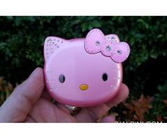 Hape Hello Kitty KUH K688 Flip Phone New Dual SIM Unique Phone