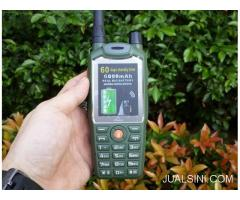 Hape Plus HT i-Cherry C133 Walky Talky UHF With Beltclip 6000mAh