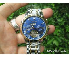 Jam Automatic Mechanical LIGE 9813 Stainless Steel Waterresistant