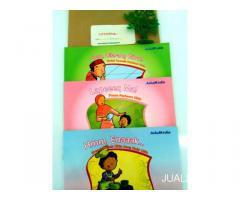 Buku Anak Islami Bergambar Seri Si Ukin Berdoa dan Berpuasa