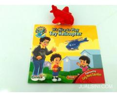 Buku Anak Bergambar English It's Nice To Play Helicopter