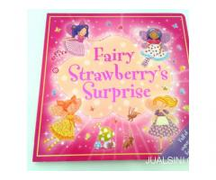 Buku Anak Boardbook Impor Fairy Strawberry Surprise