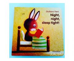 Buku Anak Boardbook Impor Pop Up Night Night Sleep Tight