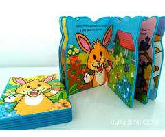 Buku Anak Boardbook Impor Breakfast to Bedtime Rabbit