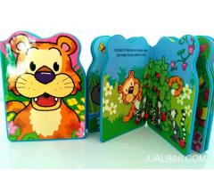 Buku Anak Boardbook Impor In The Jungle Lion