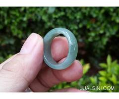 Cincin Giok Jadeite Jade Type A JDT002 Origin Burma Natural No Treat