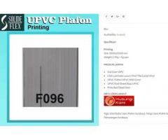 Plafon UPVC Tahan Api F096 Solide Flex di Surabaya