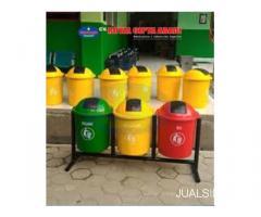 Tempat Sampah Fiberglass Murah / Volume 50 liter