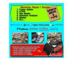 Repair / Service Fusion Splicer & OTDR Harga Terjangkau Bergaransi