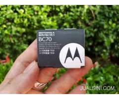 Baterai Motorola BC70 New Original Motorola Razr E6
