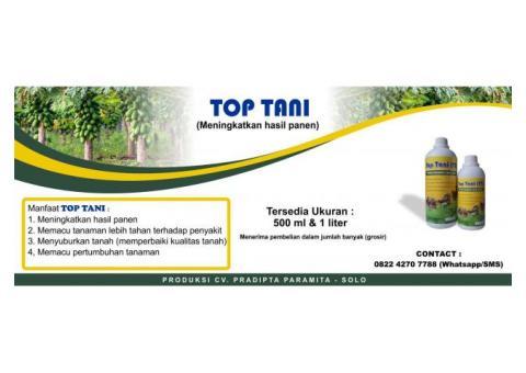 Top Tani : Obat pertanian untuk meningkatkan hasil panen