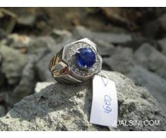 Permata Blue Safir Kristal Indah Luster Main Harga Terjangkau SF011