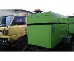 Rental Genset 165.000 Watt dan 17.000 Watt Surabaya Murah Silent