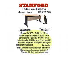 folding table execuitve stamford tipe sd8847
