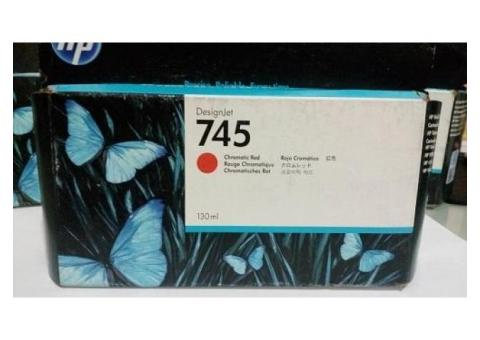 Jual Tinta HP CARTRIDGE 745 CR Chromatic Red