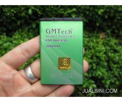 Baterai Blackberry M-S1 Untuk 9000 9700 9780 GMTech IC Protect 2200mAh