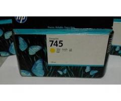 Jual Tinta HP CARTRIDGE 745 Y Yellow