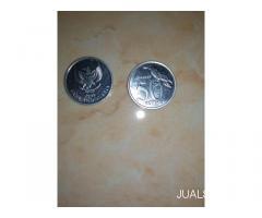 Uang koin 50 rupiah tahun 1999