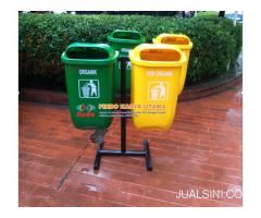 Tempat Sampah 2 IN 1 / Tempat Sampah Fiberglass