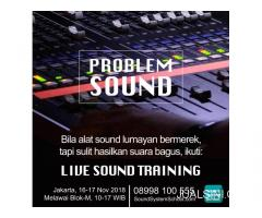 Training Live Sound