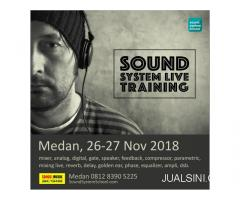 Training Sound Live Medan