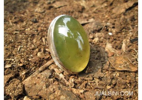 Natural Idocrase Aceh Super Big Size Giwang Change Color Indah IDC013