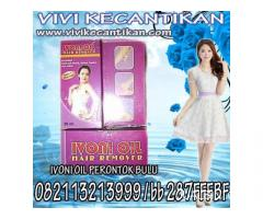 IVONI OIL PERONTOK BULU PERMANEN hp 082113213999