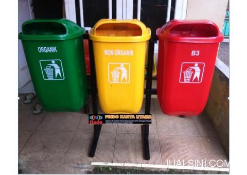 Bak Tempat Sampah Gandeng Fiberglass