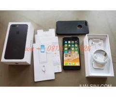 jual Apple iphone 7 plus 256 gb blackmarket
