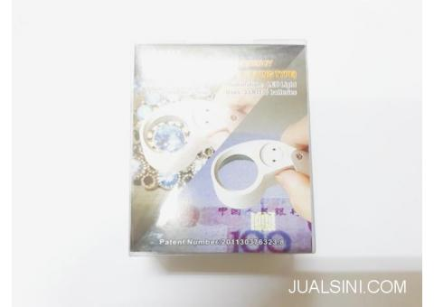 Loupe Kaca Pembesar Batu Permata MG21016 With LED Light