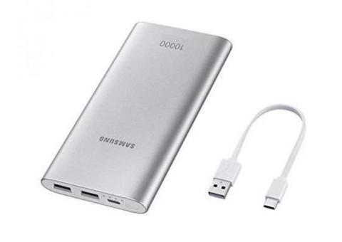 Powerbank Samsung Original 10000mAh 15W Fast Charge USB Type-C Dual