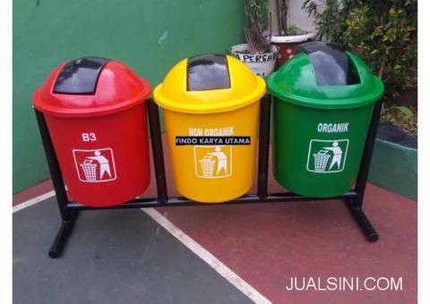 Pusat Tempat Sampah Gandeng Produk Fiberglass