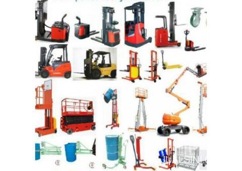 Jual Forklift battrey dan diesel murah