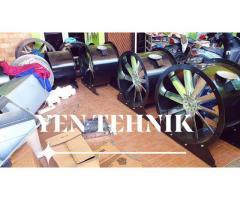 supplier axial direct fan industri