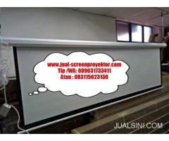 jual screenprojector manual