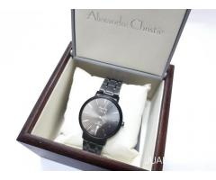 Jam Tangan Alexandre Christie AC 8597 MD BIPBA Black Dial Like New